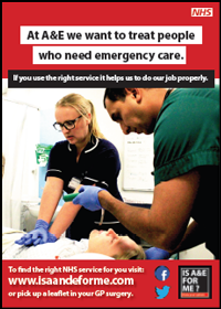 Is A&E for me? Poster 1